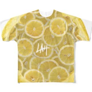 れもんもすきかも フルグラフィックTシャツ