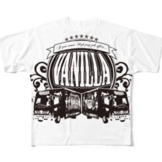 VANILLA TRUCK フルグラフィックTシャツ