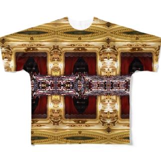 世界で二番目に美しい本屋さん Full graphic T-shirts