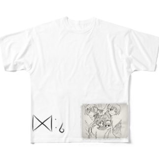 ミリーの見ている夢 Full graphic T-shirts