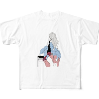 キャサリン フルグラフィックTシャツ