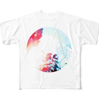 思い出す フルグラフィックTシャツ