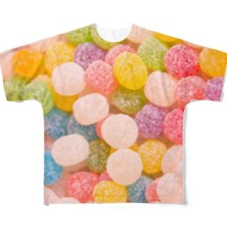 飴(アメ)🍬 フルグラフィックTシャツ
