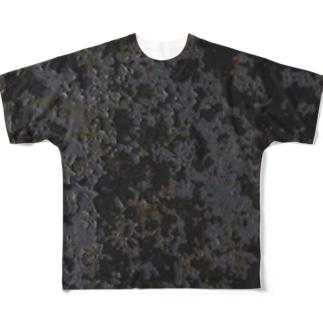塗装剥げ フルグラフィックTシャツ