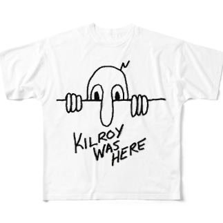 KILROY WAS HERE Full graphic T-shirts