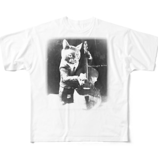 Doublebass Player 2 Full graphic T-shirts