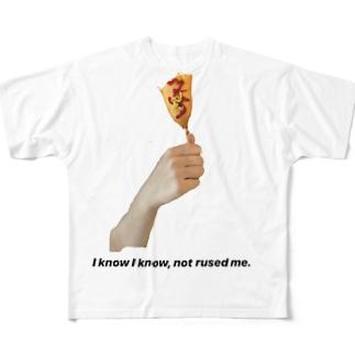 食べかけのアメリカンドッグ🌭 Full graphic T-shirts