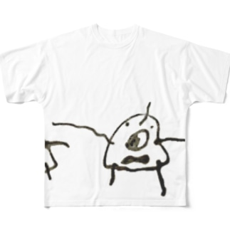 ヒト Full graphic T-shirts