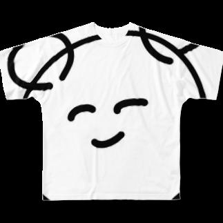 ke3510のひなもん Full graphic T-shirts