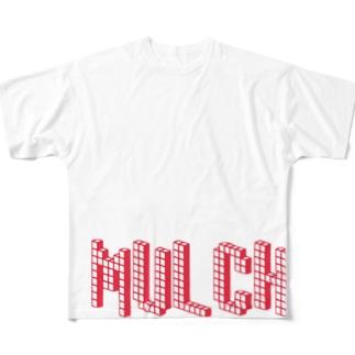まるち Full graphic T-shirts