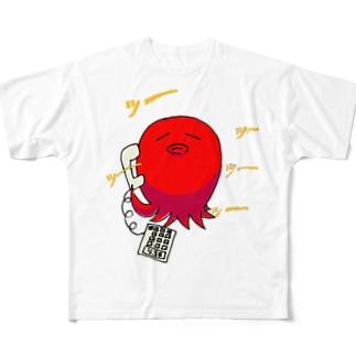電話に出て下さい。 フルグラフィックTシャツ