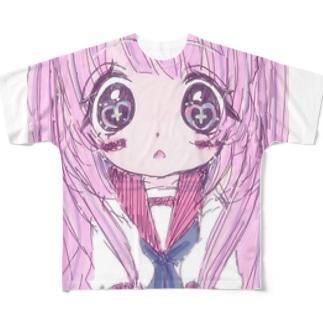 君の夢を見てたの Full graphic T-shirts