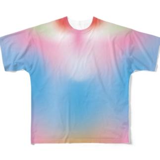 マンドリル★ヒップカラー フルグラフィックTシャツ