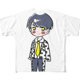 吉田仁人 Full graphic T-shirts