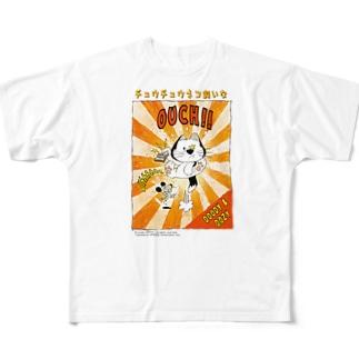 チュウチュウネコ飼いな(DOODY & DOZY) フルグラフィックTシャツ