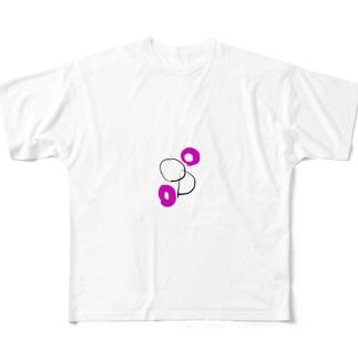平八グッズ フルグラフィックTシャツ