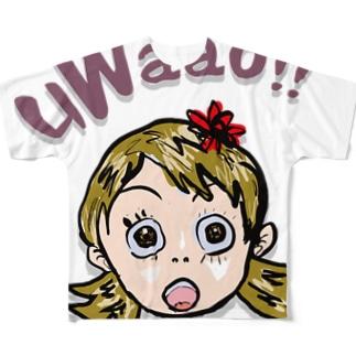 uWaao フルグラフィックTシャツ