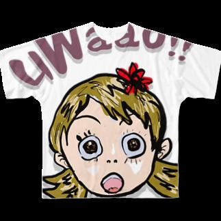 honey-designのuWaao Full graphic T-shirts