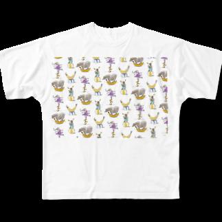 いすやますみえのバナナサーカス団 Full graphic T-shirts