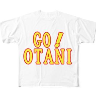GO!OTANI Full graphic T-shirts
