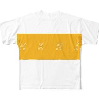 ハルカミライ(HKRI) Full graphic T-shirts