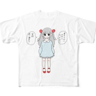 蟹座 Full graphic T-shirts