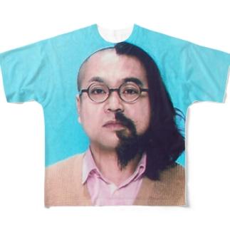 ハーフ・ハーフ Full graphic T-shirts