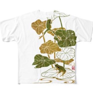蓮蛙 Full graphic T-shirts
