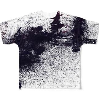 「荒」 Full graphic T-shirts