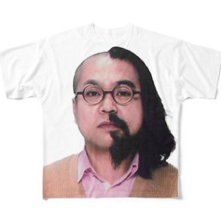 ハーフ・ハーフ フルグラフィックTシャツ