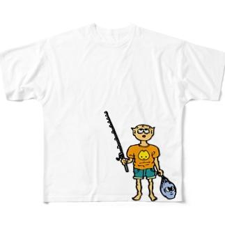 アタマ・バッカン君 フルグラフィックTシャツ