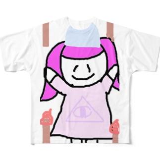 ホォオオオオオオオオオオオオオオ\(^o^)/ フルグラフィックTシャツ
