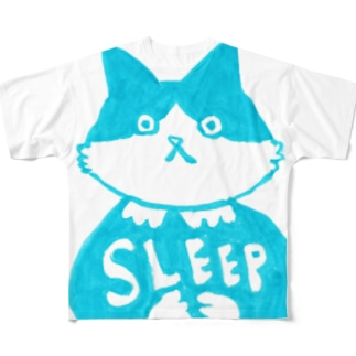 末広さん「SLEEP」 Full graphic T-shirts