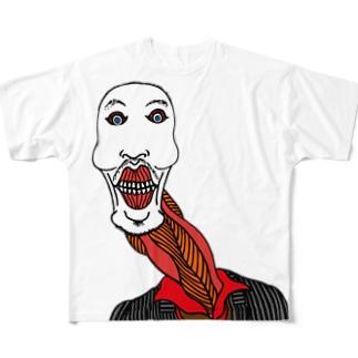 仮面の男 六覺千手-零式- Full graphic T-shirts