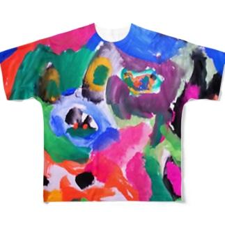 DOG☆HEART(Karin) フルグラフィックTシャツ