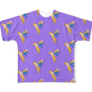ヒップアタック Full graphic T-shirts