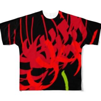 彼岸 Full graphic T-shirts