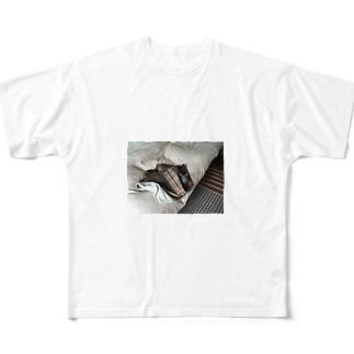 おくるみイブ Full graphic T-shirts