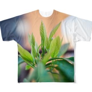 アボカド フルグラフィックTシャツ