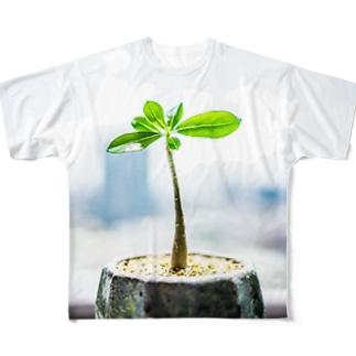 アデニウム フルグラフィックTシャツ
