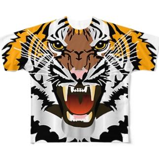 寅! Full graphic T-shirts