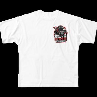 EAA!! Official Store - EAA!! 公式ストアの新ロゴ「EAA(いぇあ)軍曹(仮)」 v2 Full graphic T-shirts