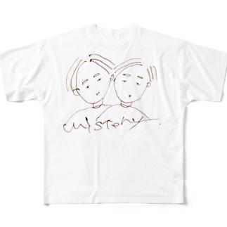 ミステリー Full graphic T-shirts