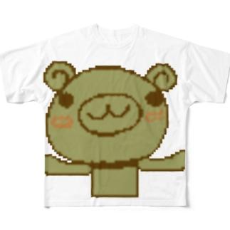 KumaRIN Full graphic T-shirts