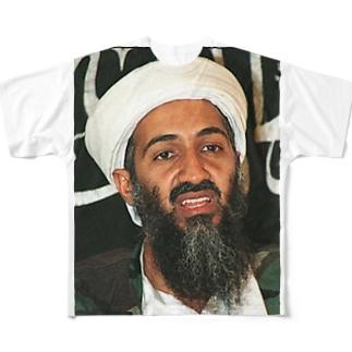 来てたら撃たれる Full graphic T-shirts