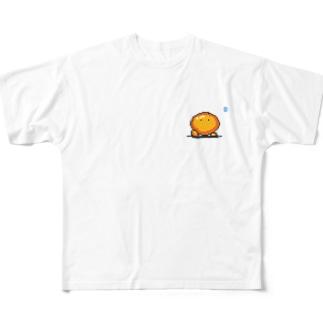 デヘヘヘラー Full graphic T-shirts