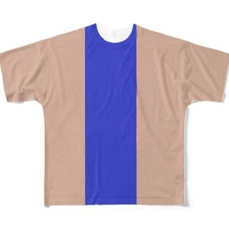 コントラスト2 Full graphic T-shirts