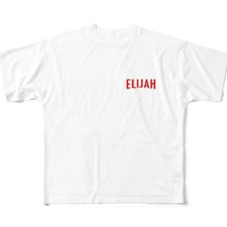 ELIJAH LOGO. フルグラフィックTシャツ