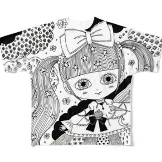 kawaii フルグラフィックTシャツ