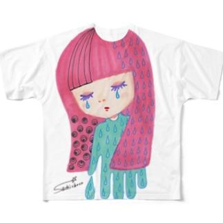夜が来た フルグラフィックTシャツ